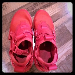 Red nikes! (My 10 year old is trying to sell) 😊